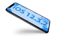 iOS 12.3.2 아이폰8플러스에서 인물사진 모드 수정