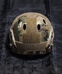 [Helmet] OPS-CORE FAST carbon Helmet Multicam Velcro work.