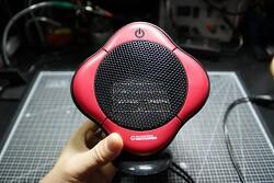 450W 가이타이너(GEITHAINER) 미니 PTC 팬히터(온풍기) 소음 문제 튜닝 - 팬속도 선택 방식으로 개조