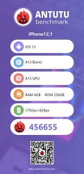 애플 - 아이폰11 / 프로 / 프로 맥스 모두 4GB RAM인 것이 안투투를 통해 확인되어..