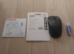 앱코 무선마우스 WM400 후기 및 사용설명서