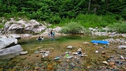 20200711 강원 노지 캠핑 [계곡]