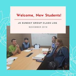 [Sunday Korean Class] New Students Greeting: 안녕하세요, 이름이 뭐예요?