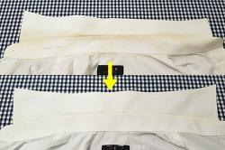 단돈 천원으로 흰 와이셔츠 목때 하얗게 되살리는 방법