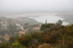 우리동네 엔시노저수지(Encino Reservoir)가 내려 보이는 카바예로캐년(Caballero Canyon) 하이킹