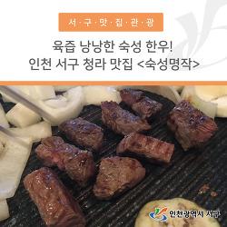 육즙 낭낭한 숙성 한우! 인천 서구 청라 맛집 <숙성명작>