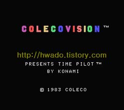 타임 파일럿(Time Pilot, タイムパイロット) 콜레코비젼(ColecoVision, コレコビジョン) 버전