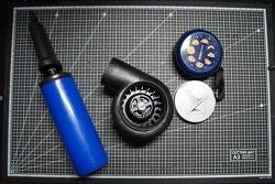 헤어드라이기 모터를 이용한 미니 송풍기(에어 블로워) 만들기