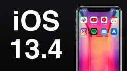 iOS 13.4 와 iPadOS 13.4 정식 배포