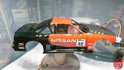 [TAMIYA] 1/24 NISSAN SKYLINE R32 (VER. GT6) - 7. 자작 데칼 작업