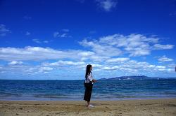파란 하늘 감사하며 오키나와 이곳 저곳