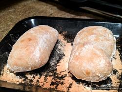 누구나 만들 수 있는 무반죽 빵 '치아바타' 간단 레시피