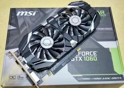 MSI 지포스 GTX1060 OC D5 3GB 윈드스톰 (엔비디아 그래픽카드)