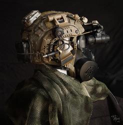 [Helmet] 75th RANGER Helmet setup.