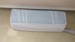 벽걸이 에어컨 깔끔하게 커버 씌우기