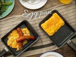 계란말이 전용 사각 프라이팬 활용법 (혼밥)