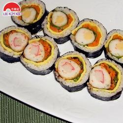 특별한 김밥 도시락 만들기 * 통 어묵 김밥