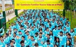 장길자회장님의 국제위러브유~ 페루에서 열린 제22회 새생명걷기대회![세이브더월드 프로젝트]