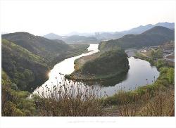 [자연과풍경] 영월 선암마을 한반도 지형 풍경
