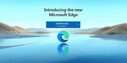 MS 새로운 엣지 Edge 웹브라우저 정식 버전 공개 배포, 크로미엄 엔진 탑재