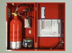 (주)동신소방 - 가스식자동소화장치 - 제품사양 (가스자동소화장치)