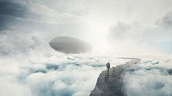 포토샵 합성 강좌 비행선 (Photoshop Manipulation Tutorial Zeppelin)
