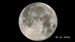 같은 보름달 다른 색감 - Fujinon A11x30 SD렌즈에 다음 카메라를 마운팅.