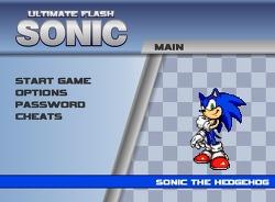 바람돌이 소닉(Ultimate Flash Sonic) 게임