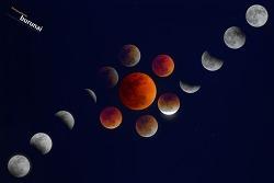 1초의 비밀. 1초의 그 빛을 담다. 개기월식(Total lunar eclipse) 그 달빛 2번째 만남