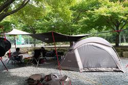 34th 충북 제천의 월악오토캠핑장 - 장마속 캠핑을 다녀왔습니다.