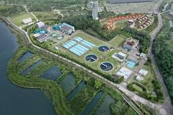 [20210114]의왕시, 왕송 공공하수처리시설 5천톤 증설공사 착공