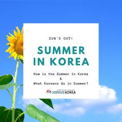 The Summer in Korea (vocabulary)