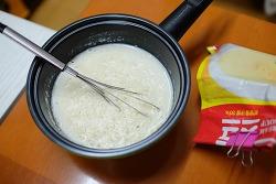 스프 떡볶이 만들기-스프와 치즈떡볶이의 궁합은?