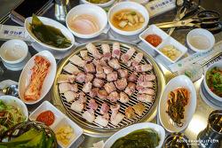 경기도 파주 맛집, 파주 롯데 아울렛 근처 맛집 '제주돈 연탄집'  (파주 고기맛집)