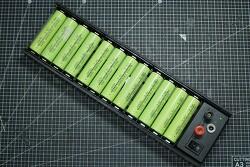 [DIY] 18650 리튬이온배터리 1S12P 자연 밸런싱 및 충전 트레이 (Balancing & Charging Tray) 만들기