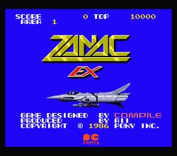 Zanac EX Enhanced