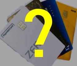 신용카드 개수 몇 개가 적당한가요?