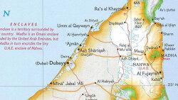 [역사] 월경지와 위요지가 뒤섞인 UAE 내 토후국들과 오만의 국경은 왜 이리 복잡할까?