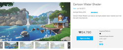 [Unreal] Unreal 4 Cartoon Water Shader Update 2.0