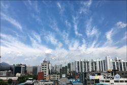 2019-08-23 / 회사에서 하늘모습