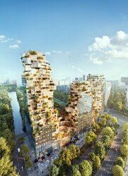 절벽을 연상시키는 암스테르담 밸리타워 VIDEO: Valley Towers in Amsterdam