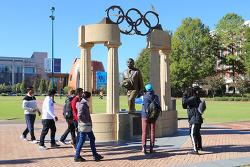 미국 남동부 최대도시인 애틀랜타(Atlanta)의 올림픽 공원(Centennial Olympic Park) 주변 둘러보기