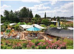 아이들 물놀이장과 놀이공원, 미니동물원이 있는 파주 퍼스트가든