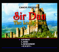 Sir Dan: The Lost Years