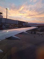 KE714 NRT-PUS 도쿄/나리타-부산/김해 대한항공 이코노미 탑승기