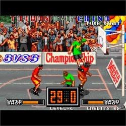 오락실 농구 게임, 스트리트 후프(Street Hoop)