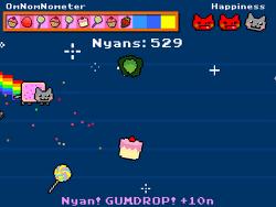 맛있는거만 먹을고양! 냥캣 플라이! Nyan Cat FLY!