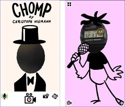 설리 인스타그램에 최근에 올라온 재미있는 동영상을 만들 수 있는 앱, CHOMP by Christoph Niemann