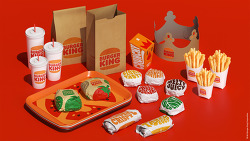 버거킹(Burger King) 20년 만의 리브랜딩, 대담하고 심플한 로고 공개