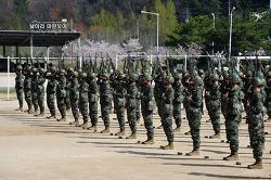 신병 1256기 3주차 5교육대 - 전투사격술, 총검술훈련